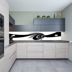 Panel szklany do kuchni tunel
