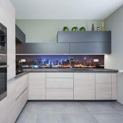 Panel szklany do kuchni Manhattan