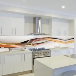 Panel szklany do kuchni sahara
