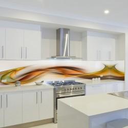 Panel szklany do kuchni indiańskie lato