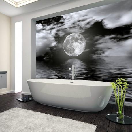Panel szklany pełnia księżyca