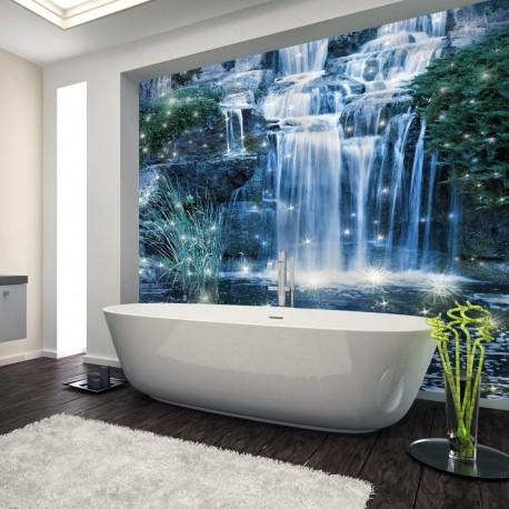 Panel szklany magiczny wodospad