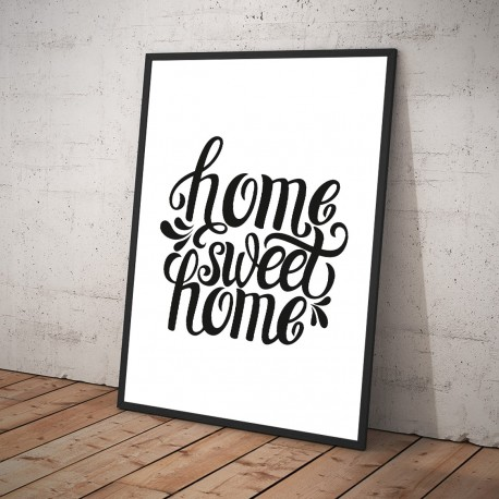 Plakat HOME SWEET HOME