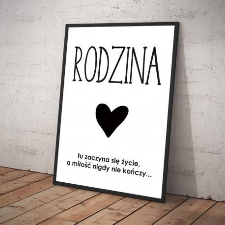 Plakat RODZINA