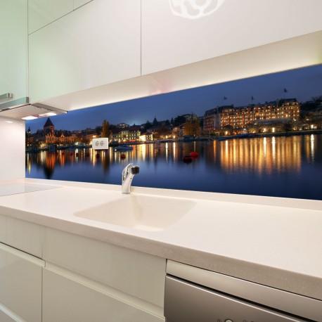 Panel szklany do kuchni Szwajcaria