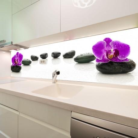 Panel szklany do kuchni Wellness