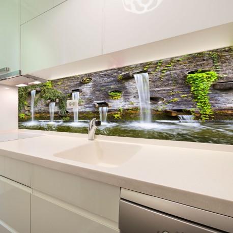 Panel szklany do kuchni Planten un Blomen