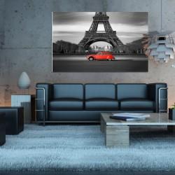 Obraz szklany wieża Eiffla