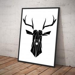 Plakat Jeleń