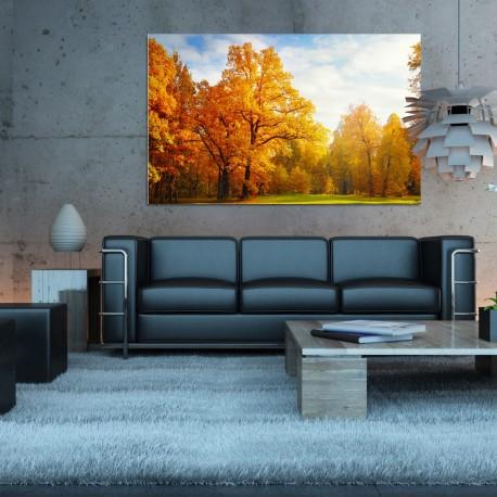 Obraz szklany jesień