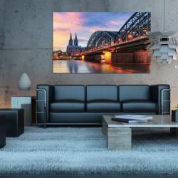 Obraz szklany most w Niemczech