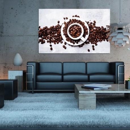 Obraz szklany filiżanka kawy