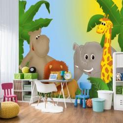 Fototapeta do pokoju dziecka safari