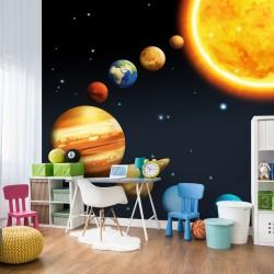 Fototapeta do pokoju dziecka planety