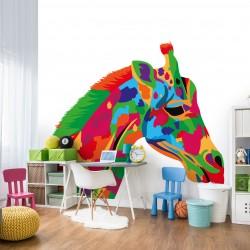 Fototapeta do pokoju dziecka żyrafa