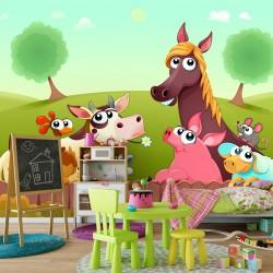 Fototapeta do pokoju dziecka farma