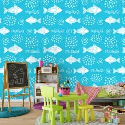 Fototapeta do pokoju dziecka ryby
