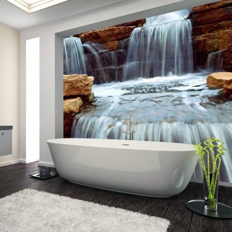 Panel szklany wodospad