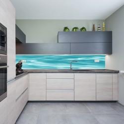 Panel szklany do kuchni tafla wody